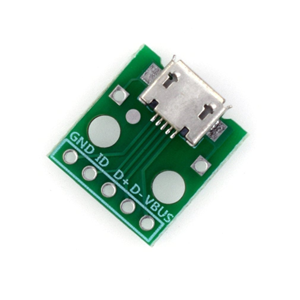 Hw-769 Adapter Board Micro Usb To Dip Female B Type Mike 5p Patch To Invert Adapter Plate Solder Female