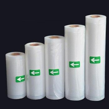 LIFE Kitchen Food Vacuum Bags For Food Storage Bag For Vacuum Sealer Food Long Keeping 12+15+20+25+28cm*500cm 5 Rolls/Lot