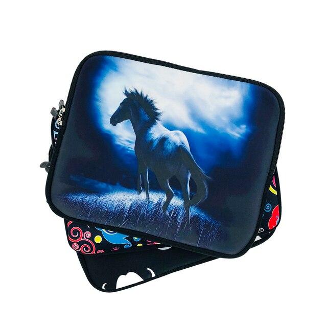Tablet 10.1 Netbook Case 7 8 10 12 13 14 15 17 torba Chromebook pokrywa laptopa dla Chuwi Lapbook powietrza 14.1 Macbook Pro 13.3 15.4 Acer