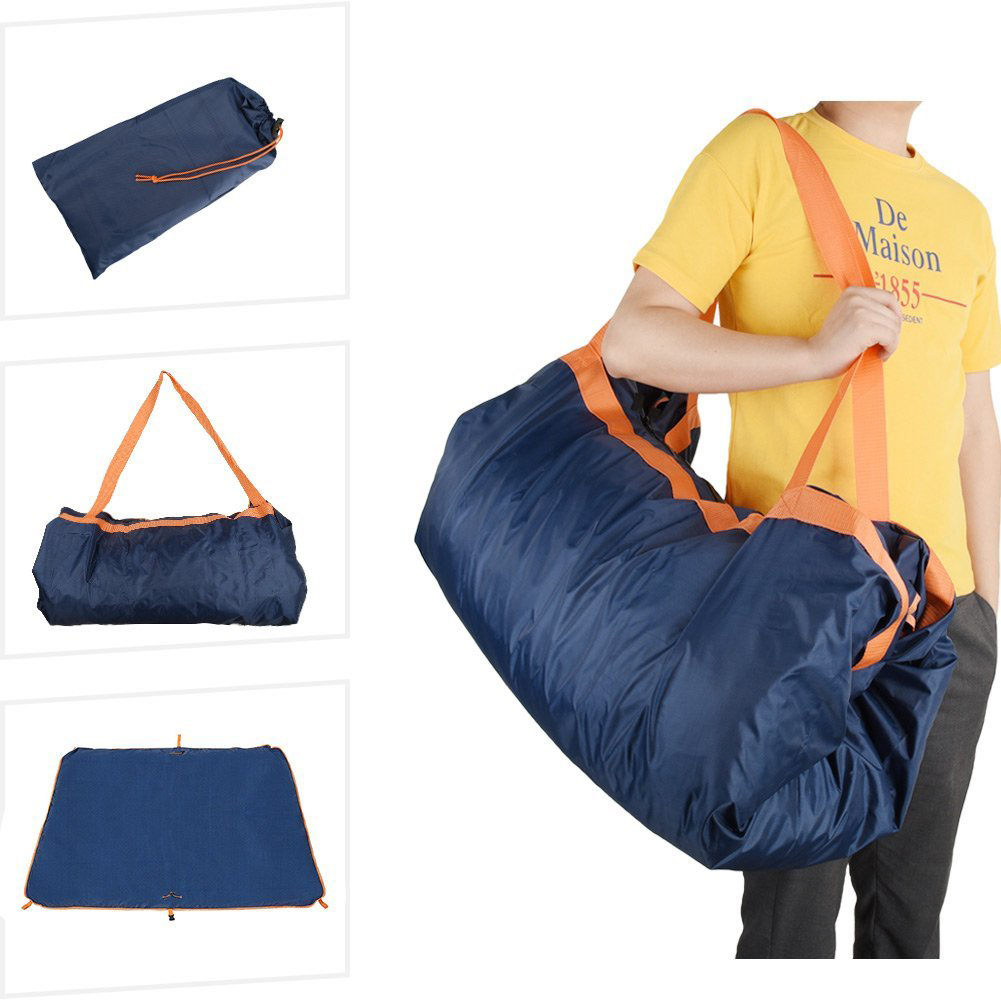 Travel Bag Foldable Mountaineering Picnic Mat Camping Multifunctional Practical Hiking Waterproof Oxford Cloth Portable Outdoor