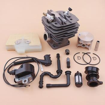 48mm Cylinder Piston Ignition Coil Kit For Stihl MS360 036 MS 360 034 Air Fuel Oil Filter Line Intake Manifold 1125 020 1215