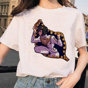 Japan Anime JoJo Bizarre Adventure Funny T-shirts for Man woman Printed Tshirt Casual Jojo T Shirt Hip Hop Top Tees female(China)