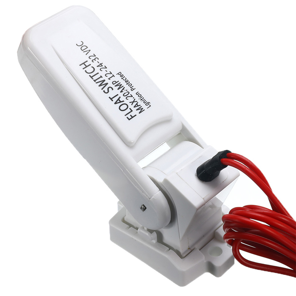 Marine Water Level Float Switch DC Automatic 12V 24V 32V Leakproof On Off Controller Electric Portable Boat For Bilge Pump