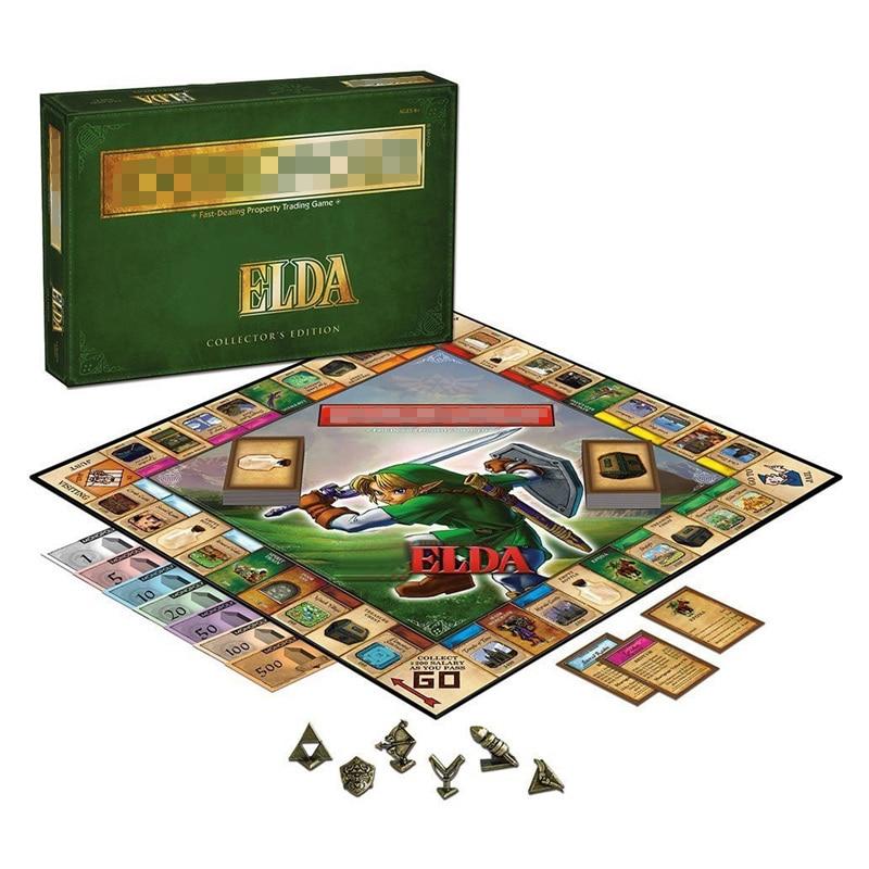 Monopoli la légende jeu de société de Zelda millionnaire jeu de cartes Edition Collector