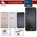 Для Huawei P10 VTR-L09 VTR-AL00 VTR-L29 крышка батареи задняя крышка корпуса задняя дверь чехол крышка батареи Замена с логотипом