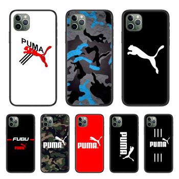 Luxuriou Movement P-Puma Phone Case cover For Iphone 11 7 8 XR 5 5C 5S 6 6S PLUS X XS PRO SE 2020 MAX black Etui pretty coque image