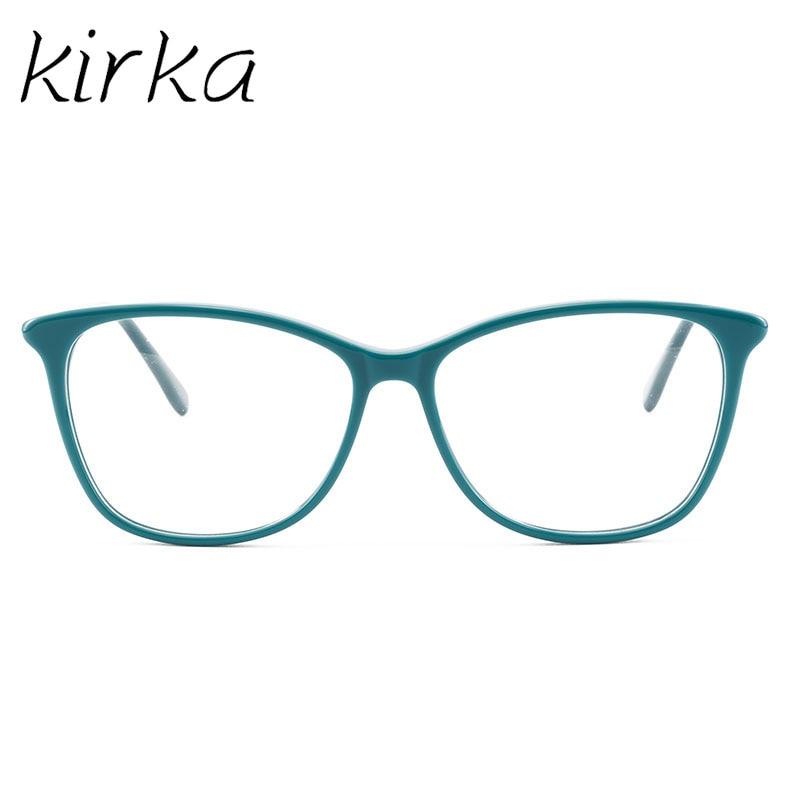 Image 4 - Kirka Glasses Frame Women Vintage Lady Eyewear Frame Clear Lens Glasses Reading Optical Glasses Frame Prescription Glasses Women-in Men's Eyewear Frames from Apparel Accessories on AliExpress