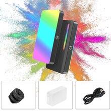VIJIM VL120 RGB LED Video Light On Camera Photography Lighting Vlog Fill Light Panel for Smartphone DSLR SLR Lamp With Cold Shoe
