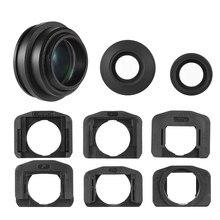 1.51X Visor de enfoque fijo ocular lupa de ojo para Canon Nikon Sony Pentax Olympus Fujifilm Samsung Sigma Minoltaz DSLR