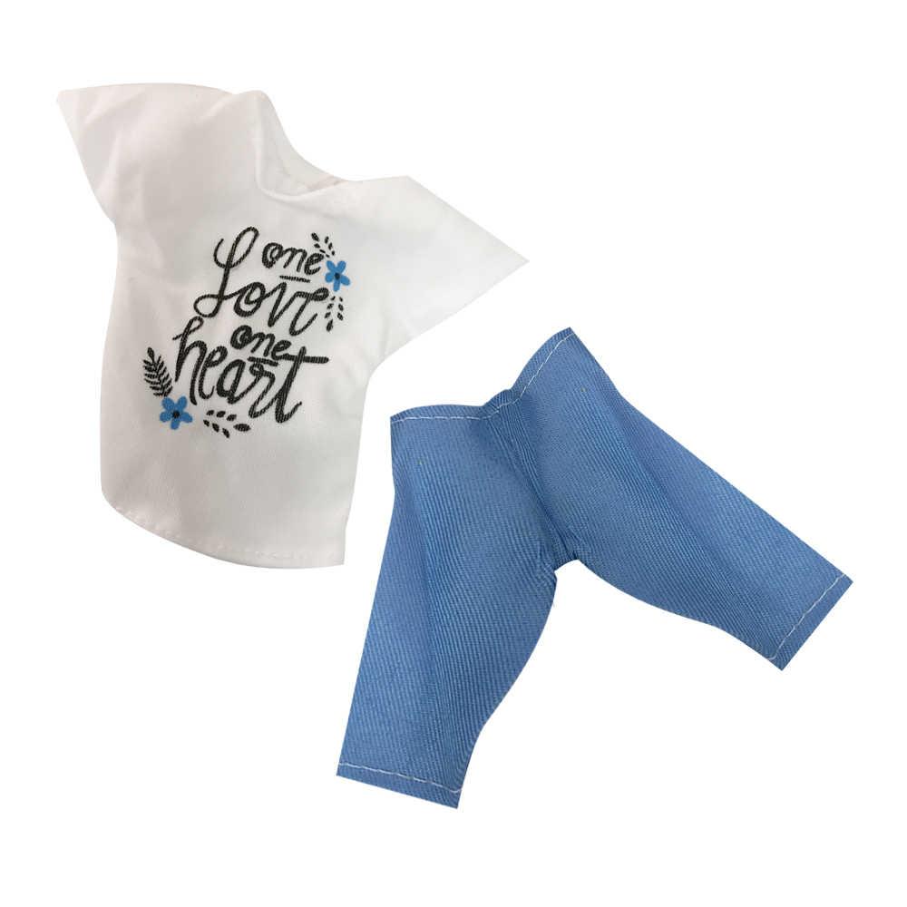 NK ใหม่ล่าสุด Prince Ken ตุ๊กตาเสื้อผ้าแฟชั่น Cool ชุดสำหรับตุ๊กตาบาร์บี้ Boy KEN ตุ๊กตาเด็กของขวัญวันเกิดของขวัญ 025A 9X