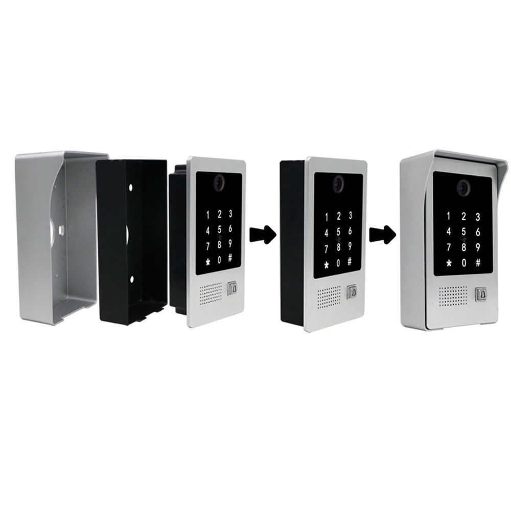Homefong 7 بوصة واي فاي الذكية السلكية الفيديو باب الهاتف الداخلي نظام دخول الباب جرس الباب الحركة سجل كلمة السر بطاقة التعريف بالإشارات الراديوية