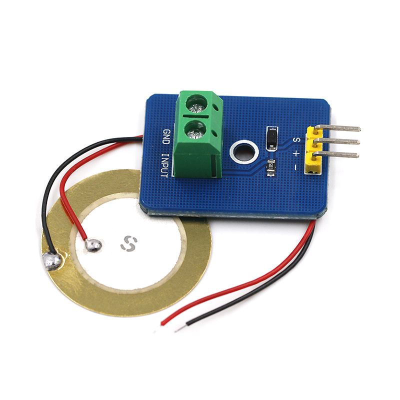 DIY KIT 3.3V/5V Ceramic Piezo Vibration Sensor Module Analog Controller Electronic Components Supplies Sensor For Arduino UNO R3