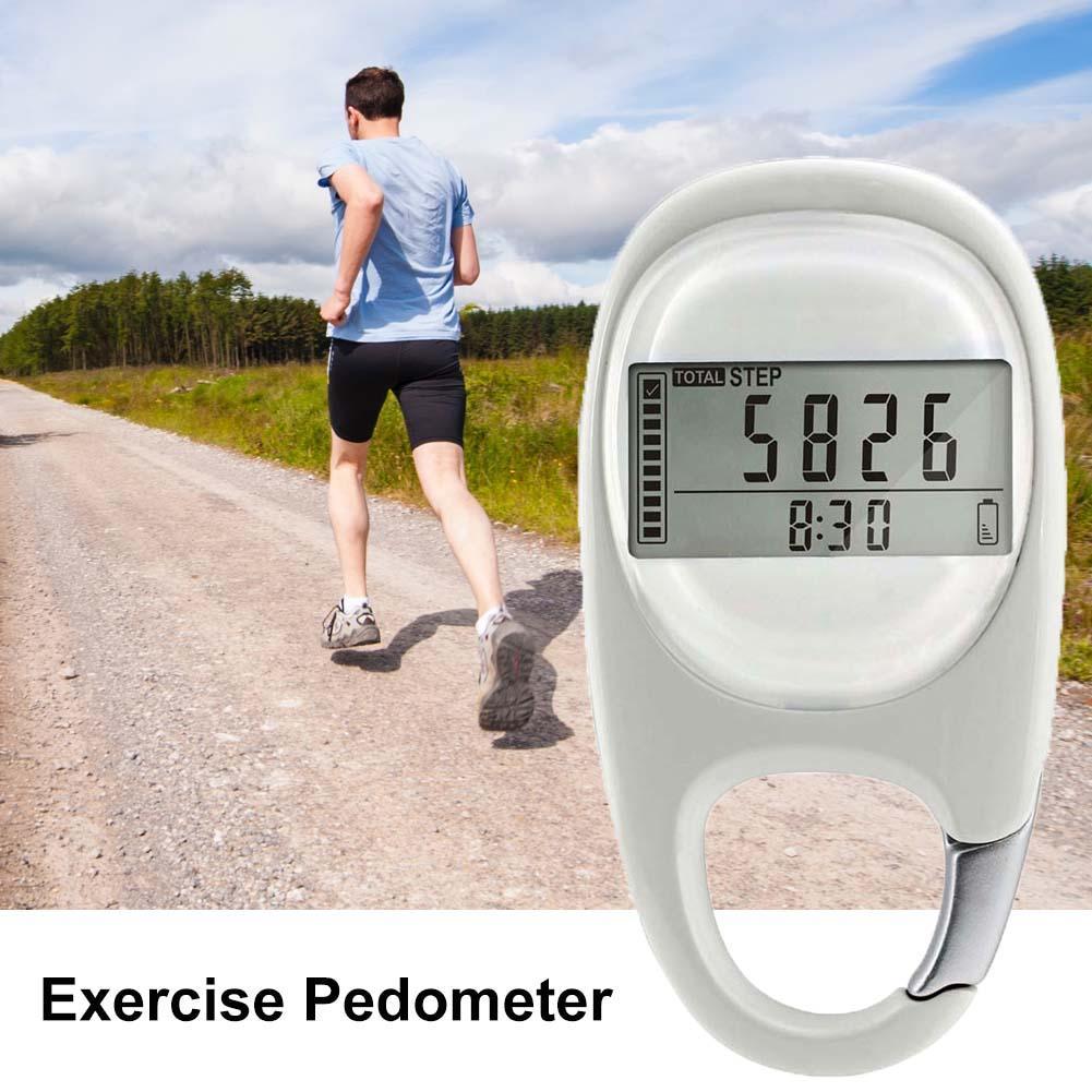 Walking Distance Fitness kalorie cyfrowa cicha indukcja wielofunkcyjny przenośny krokomierz z licznikiem krokowym