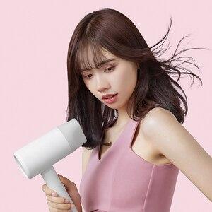 Image 3 - Xiaomi Mijia שלילי יון נייד מתקפל שיער מייבש לא נזק עשר מיליון שלילי יונים של סלון כיתת
