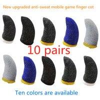 Guanti per touchscreen mobili custodia per dito sensibile al gioco accessori per giocatori antiscivolo antisudore per giochi per telefoni cellulari PUBG