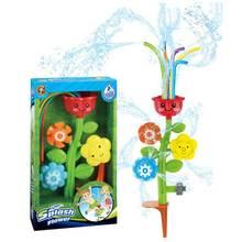 Дети цветок разбрызгиватель воды спрей игрушка для лужайки двора