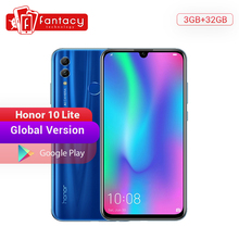 Global Version Honor 10 Lite Smartphone Kirin 710 Octa Core 6.21'' 24MP Front Camera Mobile