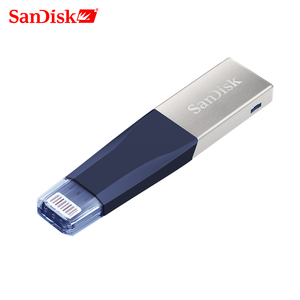 Image 1 - SanDisk stylo clé USB OTG USB 3.0 SDIX40N, lecteur Flash 256 go, clé USB lightning, pour iPhone, iPad, iPod, APPLE MFi