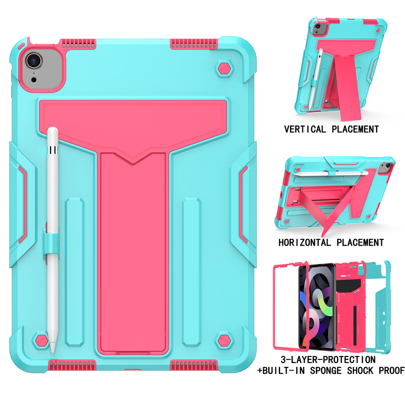 Aqua RoseRed Blue Shock Proof Case For iPad pro 11 2020 A2228 A2231 A2068 A2230 11 inch Heavy Duty