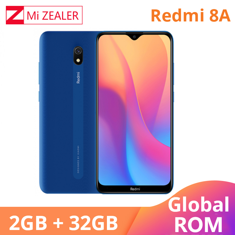 Original Global ROM Xiaomi Redmi 8A 2GB RAM 32GB ROM Snapdragon 439 12MP Camera 5000mAh Battery Smartphone Octa Cellhphone