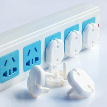 10 Pcs 2 Hole Sockets Cover Plugs Baby Electric Sockets Outlet Plug Kids Electrical Safety Protector Sockets Protection Caps