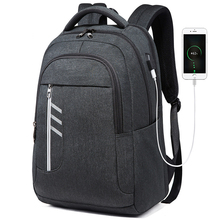 2019 16 inch Waterproof USB Professional Laptop Mens Backpack 20L Casual Notebook Male Sports Travel Bag pack For Men Mochila