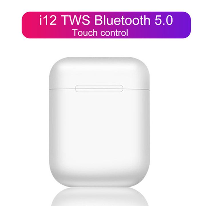 I12 TWS Original Wireless Earphones Bluetooth TWS 5.0 Earbuds For Android And IOS Earpods