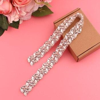 YJWSXF bridal belt womens rhinestone wedding dress dinner accessories
