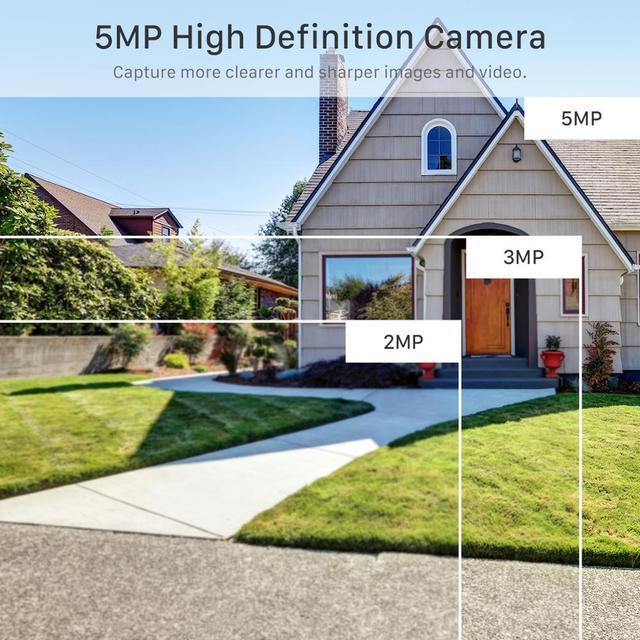 Mini caméra de Surveillance PTZ IP Wifi hd 5MP, dispositif de sécurité sans fil, avec suivi automatique, codec H.265, Zoom numérique x4, ia, détection humaine 2