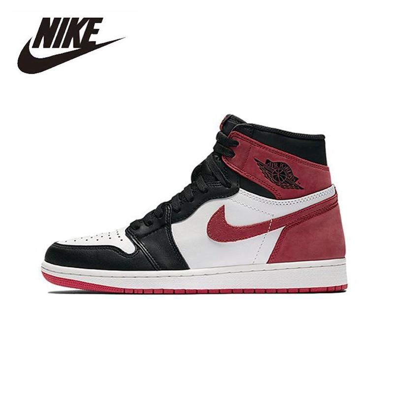 Nike Air Jordan 1 Retro High OG6 Rings Basketball Shoes Men's Basketball Sneakers Unisex Women Breathable Outdoor 555088-112