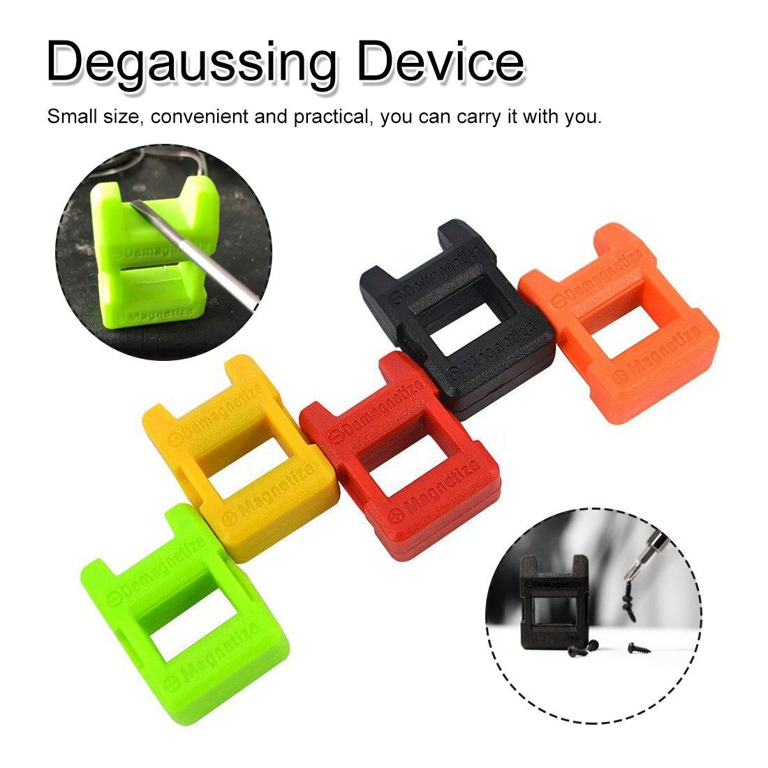 Powerful Screwdriver Plus Magnetic Device Dual-use Degausser Mini Screw Batch Fast Magnetizer Demagnetizer Random Color