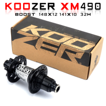 Koozer-4 bearings xm327 mtb bike hubs qr100 * 15 12*142mm