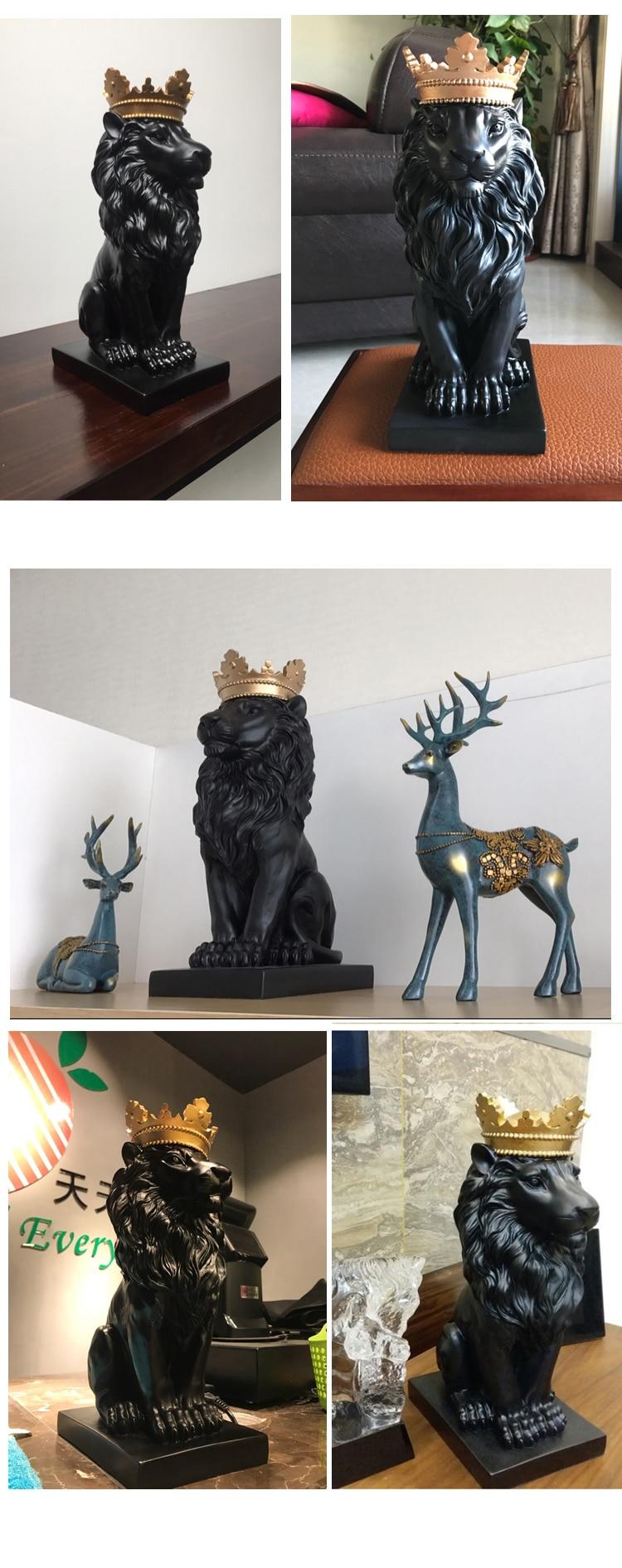 escritório desktop estatuetas esculturas arte