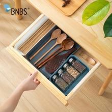 BNBS Plastic Serving Cutlery Tray Storage Organizer For Dawers Kitchen Digital Accessories cosmetics Drawer Box