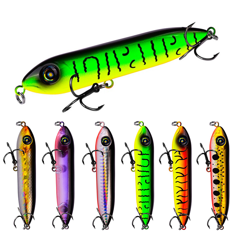 Ankeyeng 6PCS Minnow Fishing Lures 10.2cm/4.01inch 11.5g/0.40oz Crankbaits Wobblers for Fly Fishing Aritificial Hard Baits