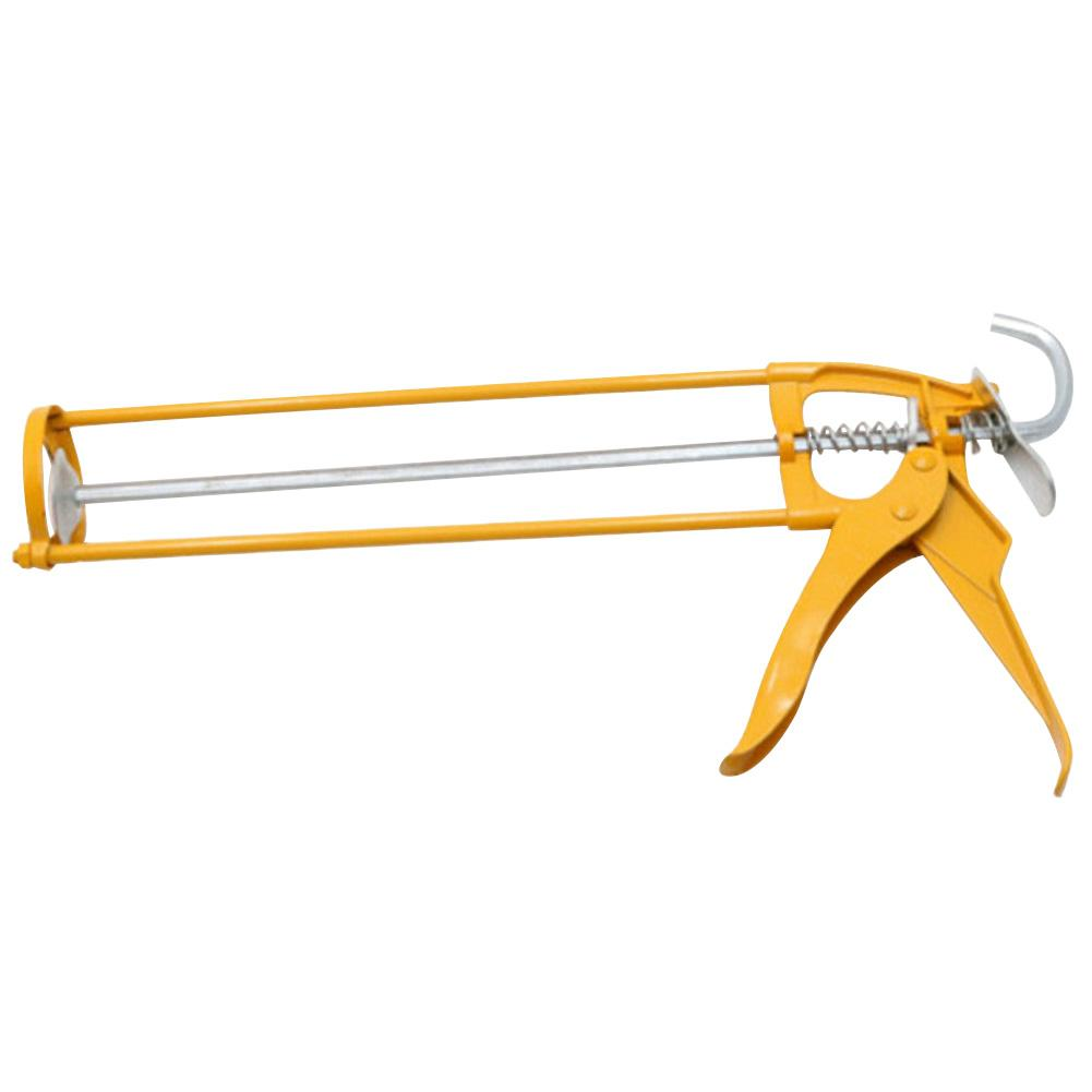Heavy Duty Metal Mastic Caulk Cartridge Sealant Skeleton Manual Applicator Tool Sealant Skeleton Applicator Flux Gun Hand Tools