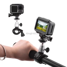 Mount-Holder Extension-Accessories Motorcycle-Bracket Action Dji Osmo Support Black