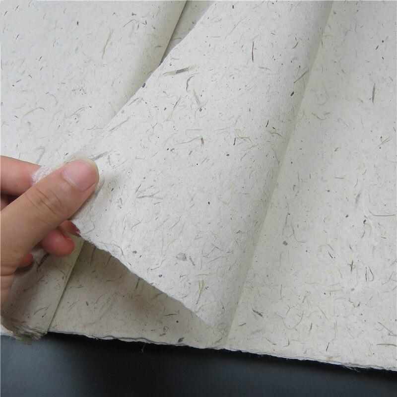 Rijstpapier Papel De Arroz Para Decoupage Calligraphy Paper Painting Calligraphy Half-Ripe Fiber Rice Paper Carta Di Riso