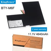 KingSener nuevo BTY M6F batería para portátil MSI GS60 MS 16H2 MS 16H4 2PL 6QE 2QE 2PE 2QC 2QD 6QC 6QC 257XCN serie 11 4 V 4640mAh|battery for msi|laptop battery|for msi -