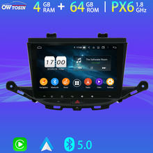 Android 9.0 PX6 4G 64G 4G SIM untuk Opel Vauxhall Holden Astra K GPS Navigasi Radio Auto stereo WiFi DSP Head Unit Parrot BT DAB(China)