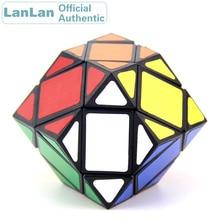 LanLan 3x3 Rhombohedral Dodecahedron Diamond Magic Cube Megaminxeds Speed Puzzle Antistress Fidget Brain Teasers Educational Toy yongjun diamond symbol 3x3x3 magic cube yj 3x3 professional neo speed puzzle antistress fidget educational toys for children