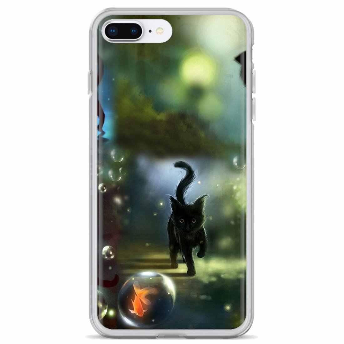 Dành Cho Samsung Galaxy Samsung Galaxy A10 A30 A40 A50 A60 A70 S6 Hoạt Động Note 10 Plus Edge M30 Trắng Dễ Thương Mèo Yêu Thương ốp Lưng Điện Thoại