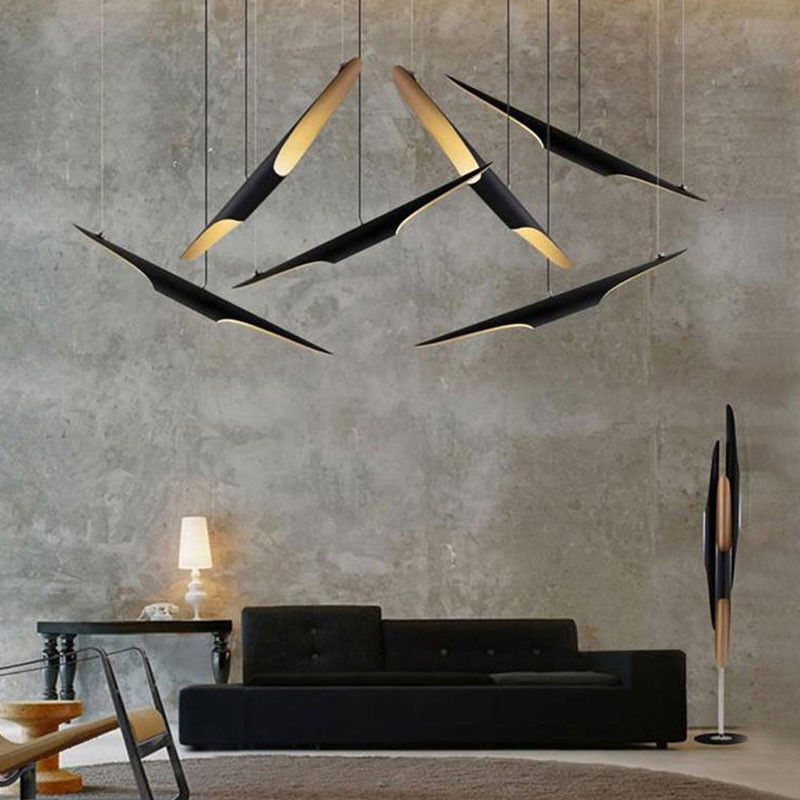 Post Modern Bamboo Tube Pendant Chandelier Lights Ceiling Pendant Lights Chandeliers