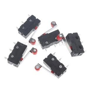 10Pcs/Set Mini 3-Pin Tact Switch KW11-3Z 5A 250V Round Handle Clock Microswitch Drop Shipping