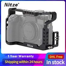 Nitze X H1 Caméra Cage pour Fujifilm X H1 avec compatibles HDMI Câble Pince TP08