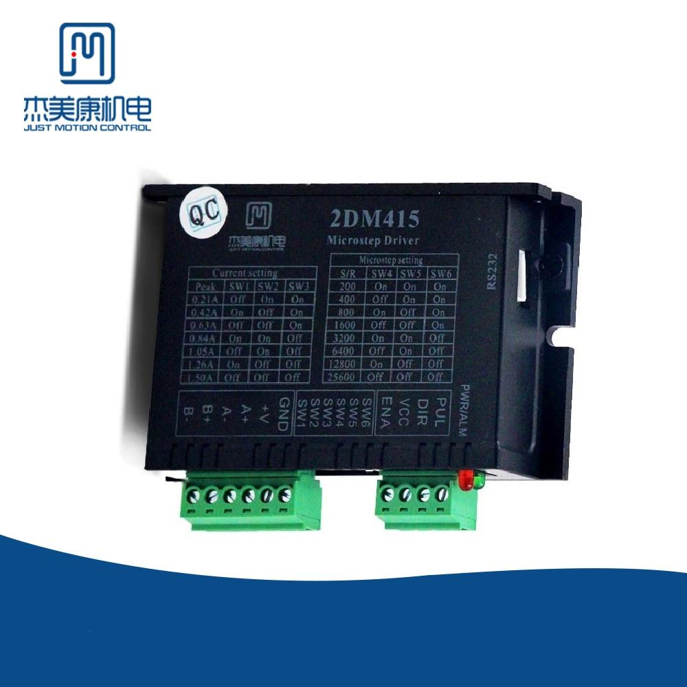 JMC 2 phase Nema 11 محرك متدرج محرك منخفضة التكلفة تشغيل سلس محرك متدرج رقمي سائق ل ماكينة بتحكم رقمي بالكمبيوتر عدة 2DM415