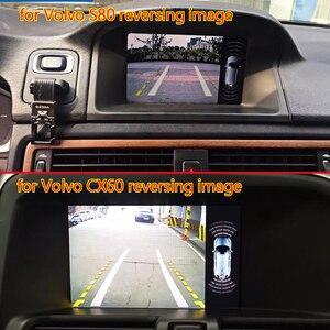 Image 4 - Telecamera di retromarcia per Volvo XC60/V40/V60/S60/S80L 2012 ~ 2014 Adattatore di Interfaccia di Sostegno della Parte Posteriore telecamera Collegare Originale Schermo MMI