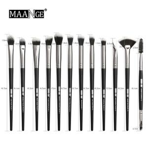 Image 5 - MAANGE Pro 5 20Pcs Makeup Brushes Set Multifunctional Brush Powder Eyeshadow Make Up Brush With Portable PU Case Beauty Tools