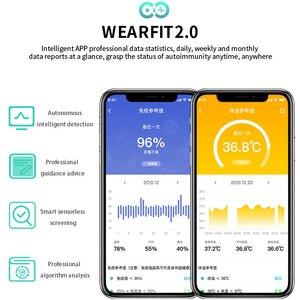 Image 4 - Lerbyee สมาร์ทนาฬิกา W58pro Body อุณหภูมิ Heart Rate Monitor บลูทูธฟิตเนส Tracker Call Reminder ผู้ชายผู้หญิง Smartwatch 2020