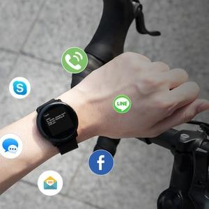 Image 5 - UMIDIGI Uwatch2 ساعة ذكية الرجال النساء اللمس الكامل اللياقة البدنية تعقب رصد معدل ضربات القلب ساعة ذكية Smartwatch لهواوي شاومي
